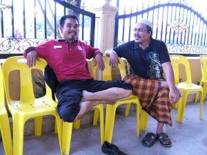 heheh...akulah ketua kampung termuda di Perak