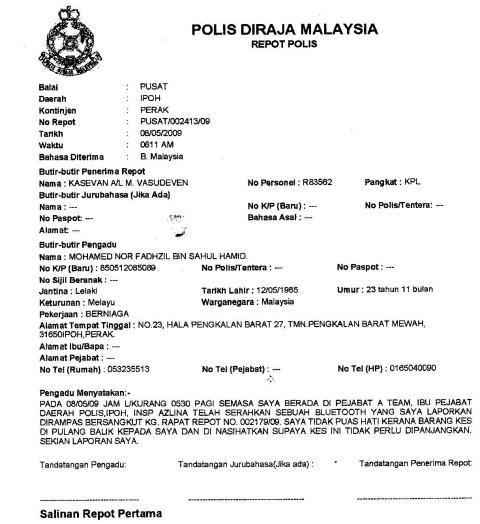 Report Polis 3