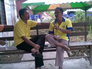 bersama Ketua UPU Permatang Pauh